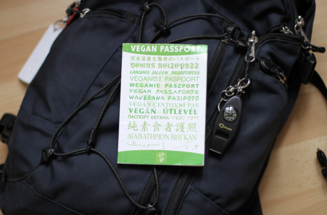 Vegan Passport Book