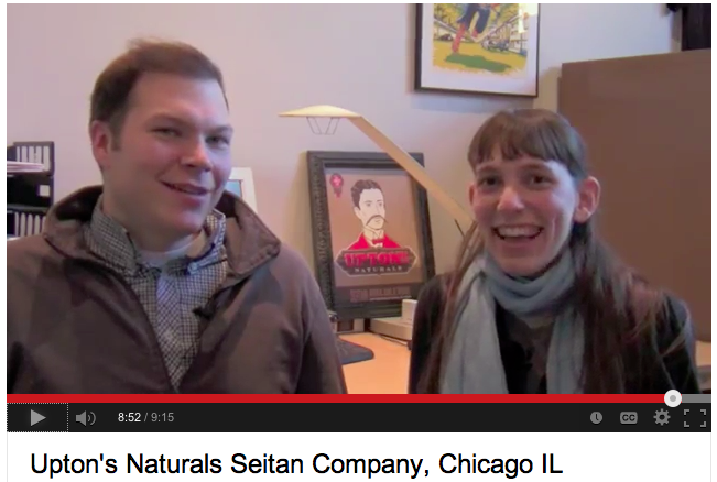 Dan and Nicole from Upton's Naturals