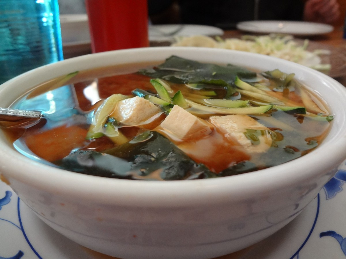 Urban Vegan Hot Sour Soup