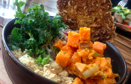How Ordering Dessert, Indulging, & Eating at Non-Vegan Places Make for Healthy Road Trip Habits