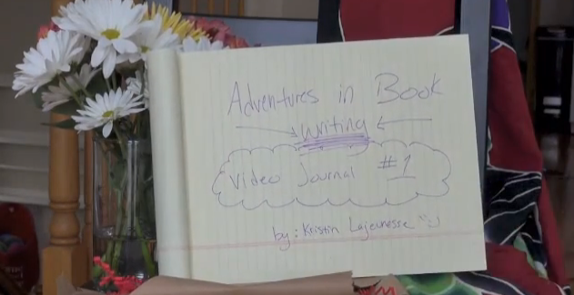 Adventures in Book Writing – Video Journal #1