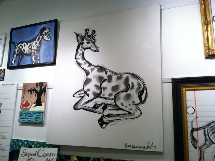 giraffeart