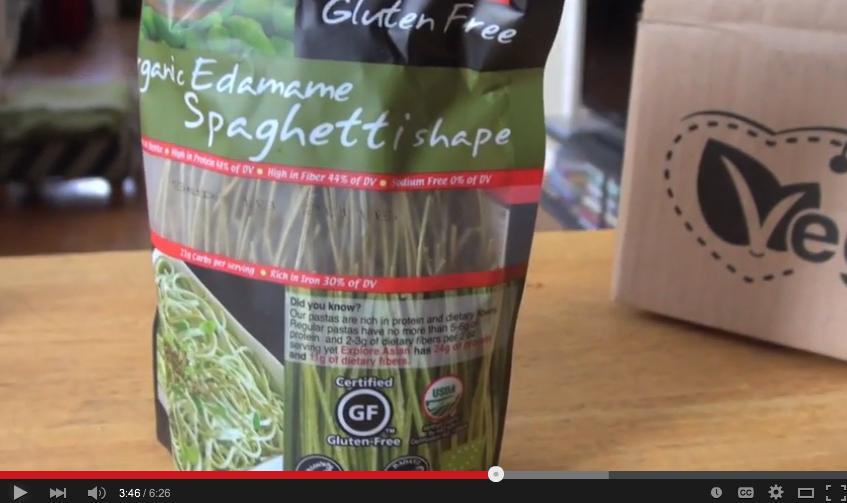 organic edememe spaghetti