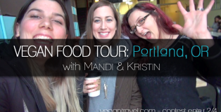 vegan travel portland oregon