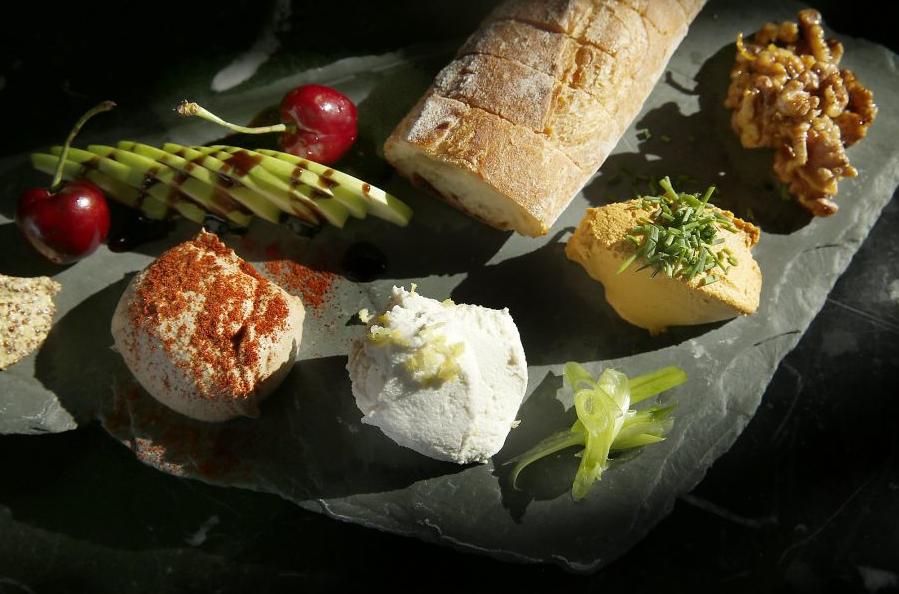 vegan cheese plate encuentro