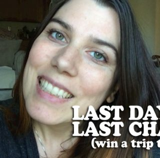 TODAY'S THE LAST DAY: win a trip to pdx