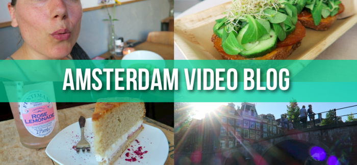 Vegan in Amsterdam! Video Blog for VeganTravel