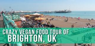 ALL THE VEGAN FOOD! Brighton, UK