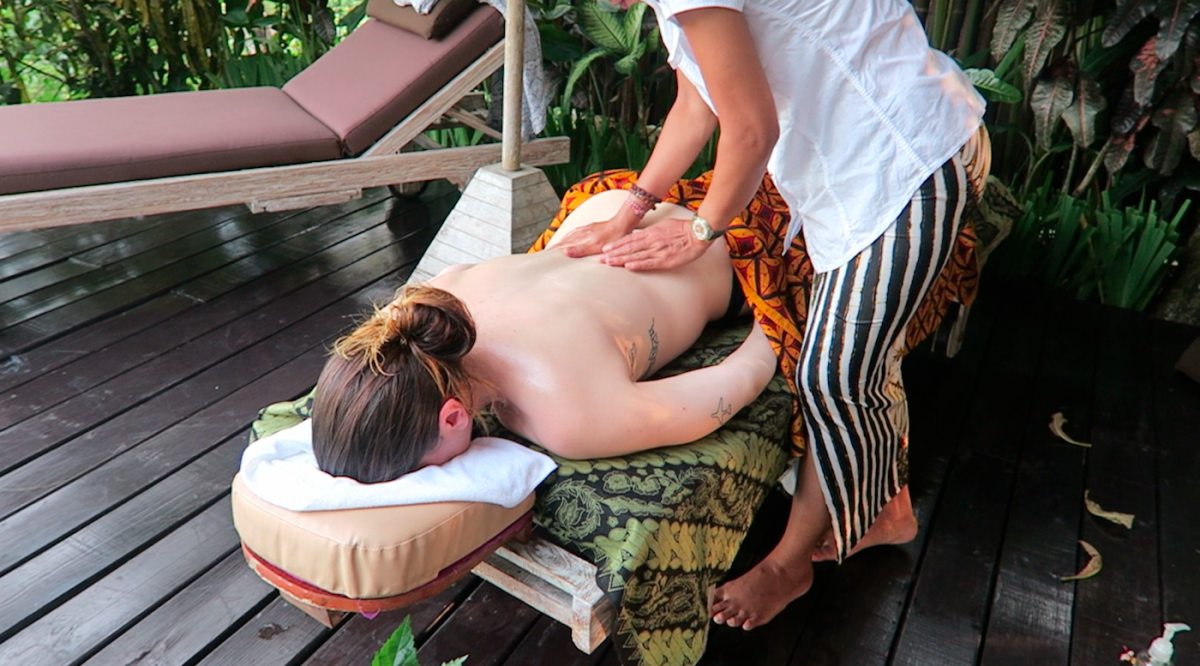 massage at villa shamballa