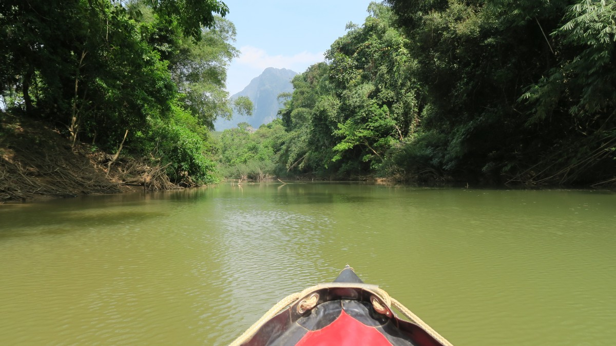 Canoe ride Khao Sok River