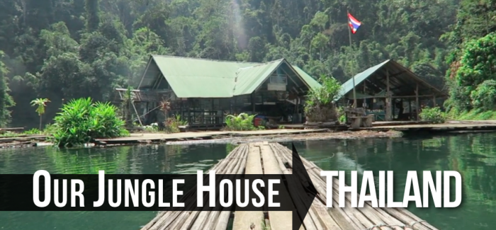 Eco-Jungle Tree Houses in Thailand – Our Jungle House