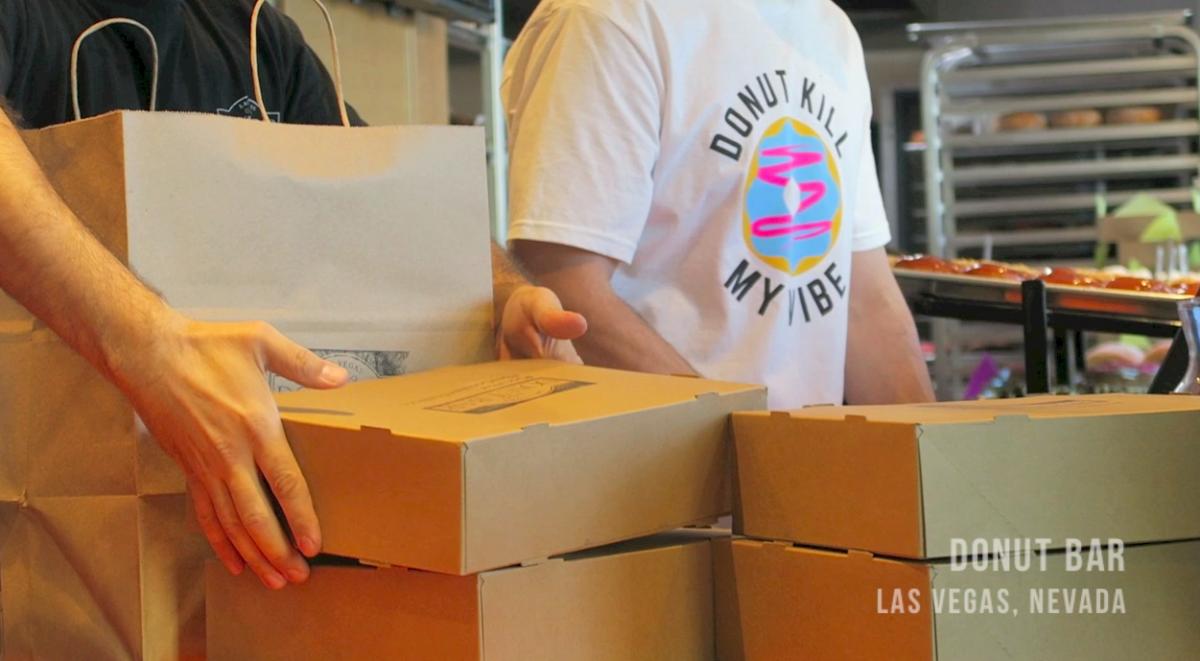 Donut Bar Las Vegas - vegan donuts